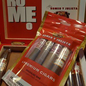 Romeo & Julieta 4 Cigar Sampler Pack
